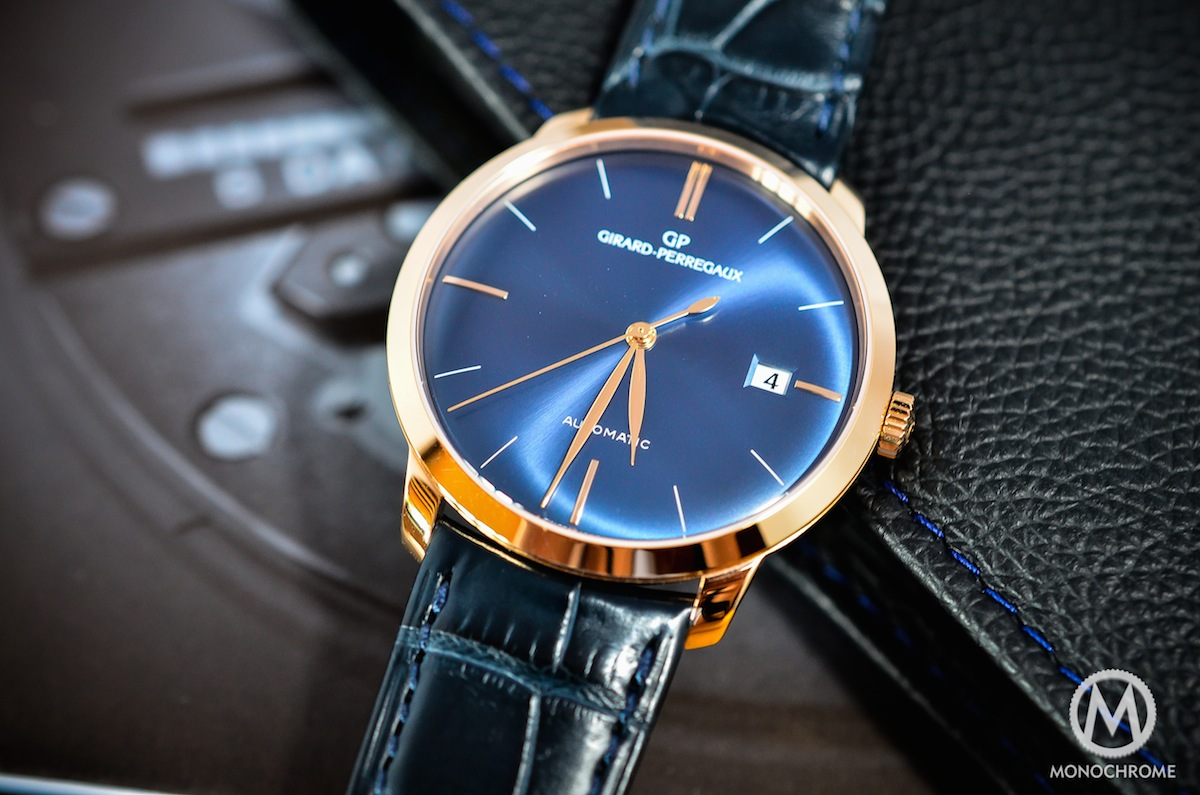 Girard-Perregaux 1966 blue dial and pink gold – REVIEW (specs, photos and price)