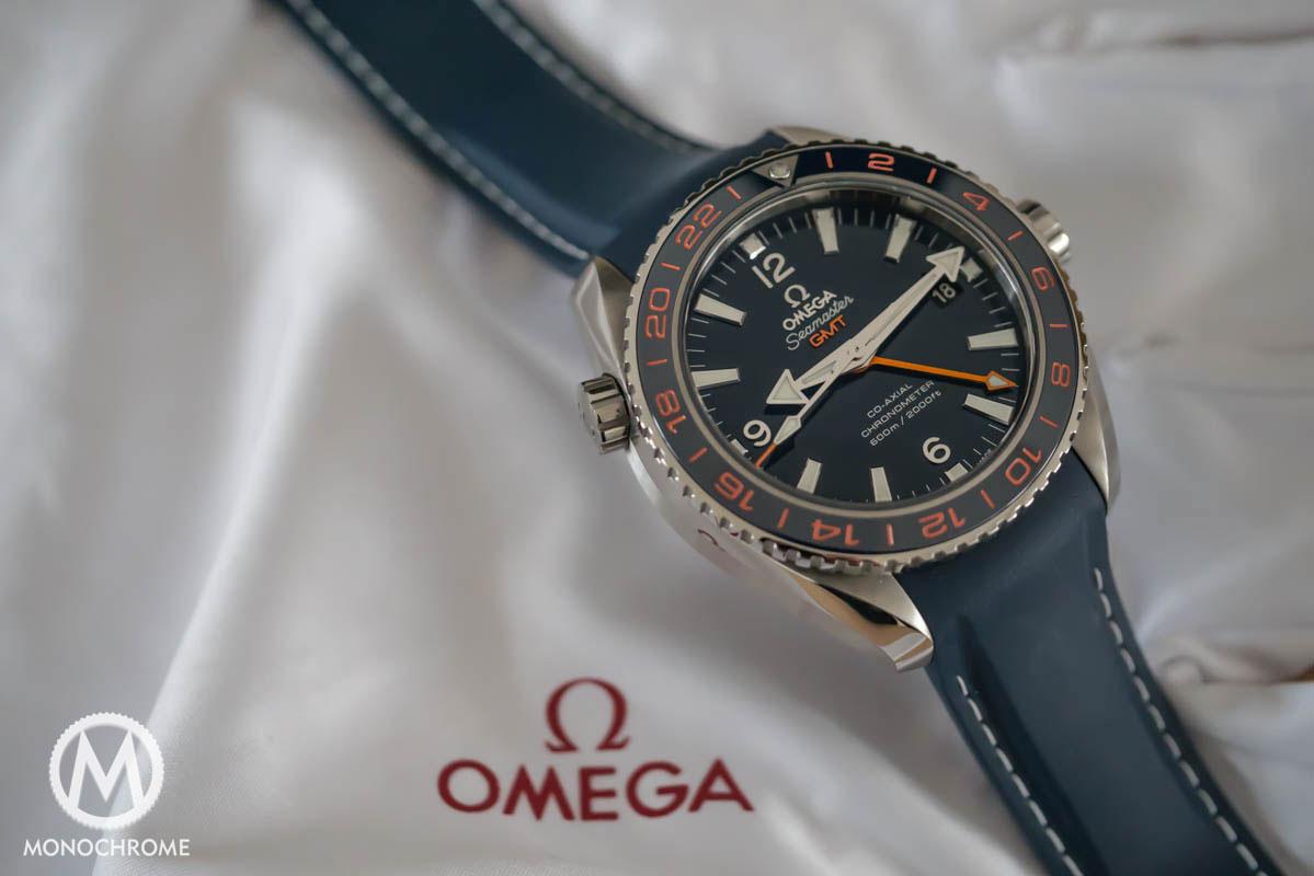 Omega Seamaster Planet Ocean 600M GMT GoodPlanet - Omega logo