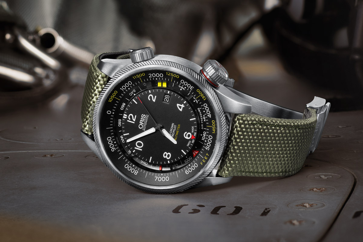 Oris Big Crown ProPilot Altimeter (Specs and Price ...