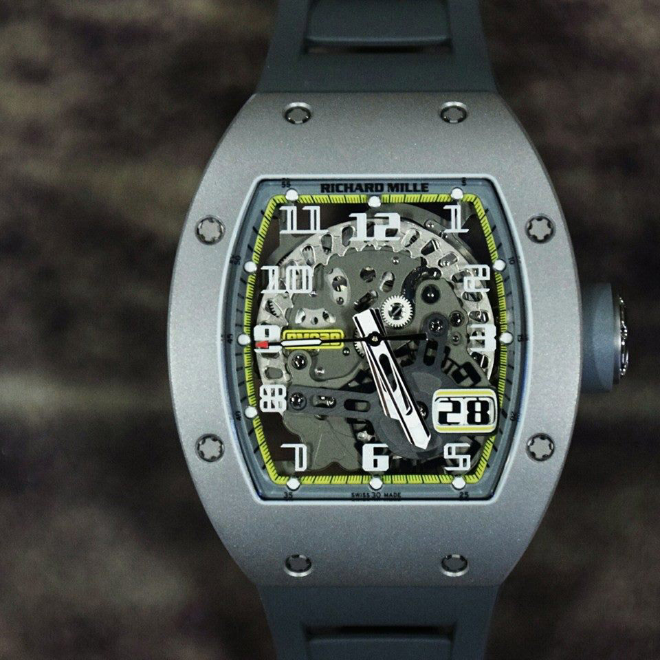 Richard Mille RM 029 All Grey Boutique Edition 'Yellow Flash'