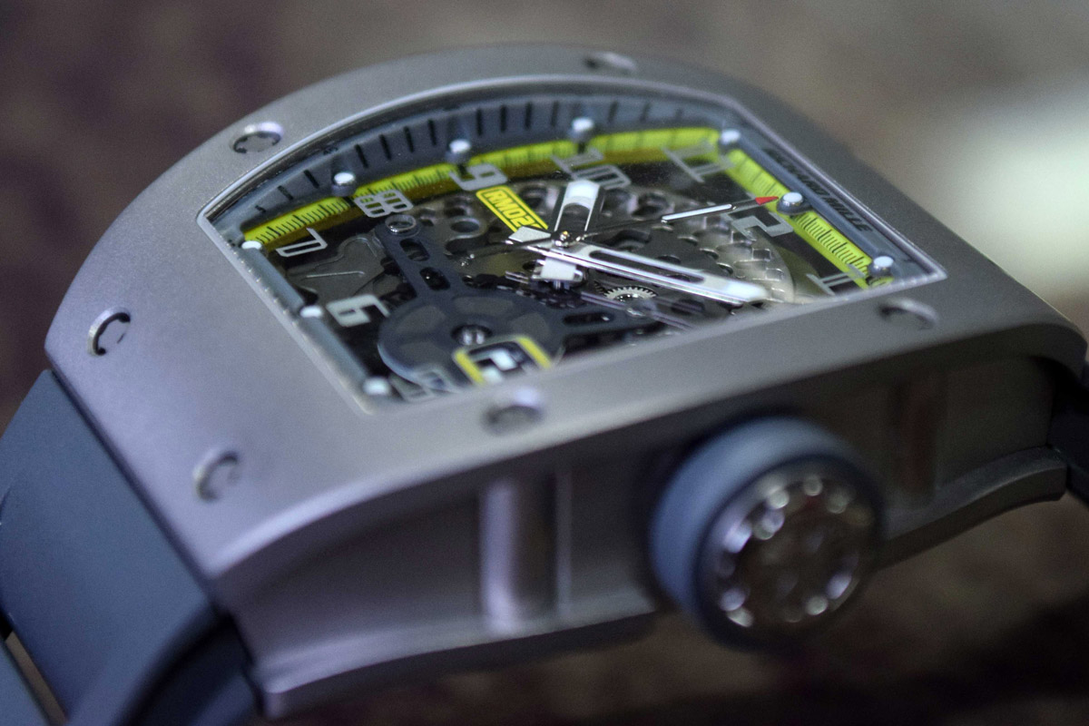 Richard Mille RM 029 All Grey Yellow Flash