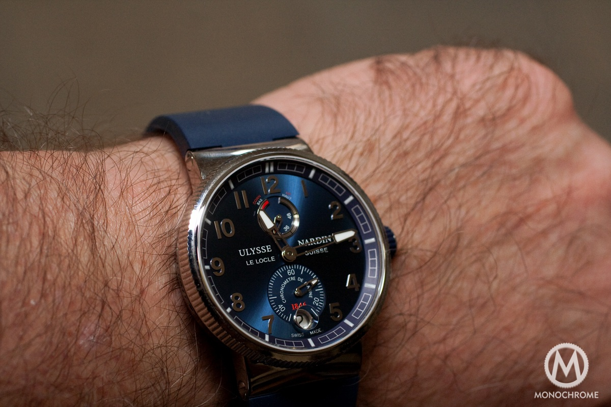 Ulysse Nardin Marine Chronometer Manufacture Review Live Photos Amp Price Monochrome Watches