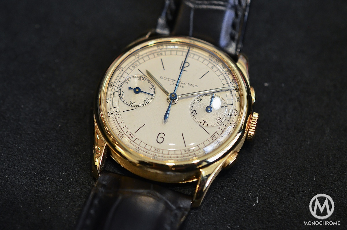 Vacheron Constantin vintage chronograph ref. 4072 – hands-on with live photos