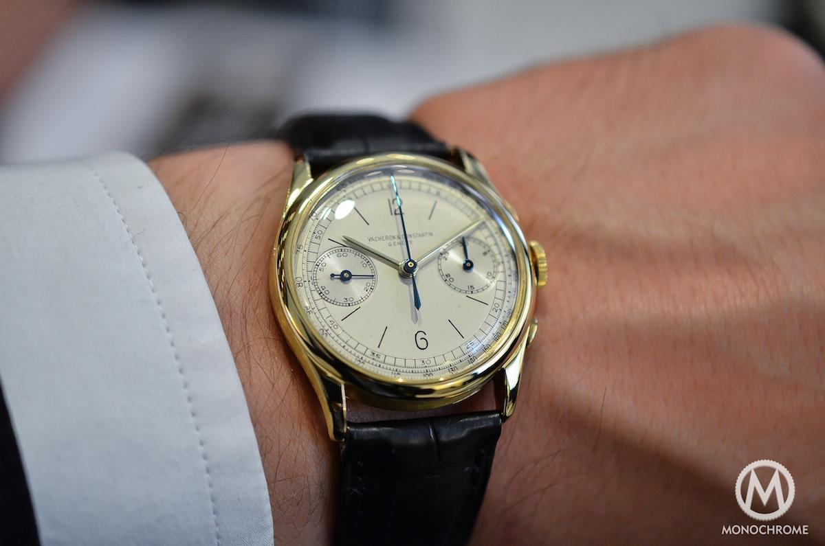 Vacheron Constantin Vintage Chronograph Ref 4072 Hands On
