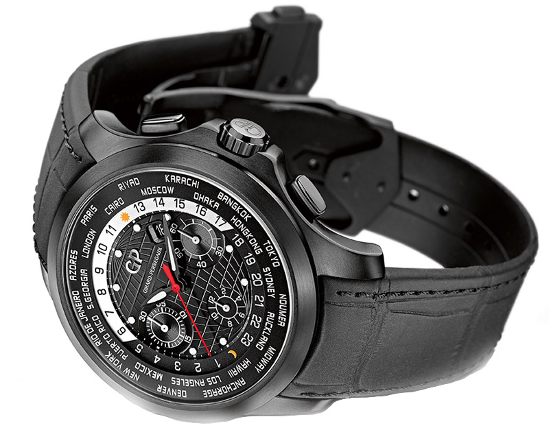 Girard-Perregaux Traveller WW.TC Titanium DLC (Specs and Price)
