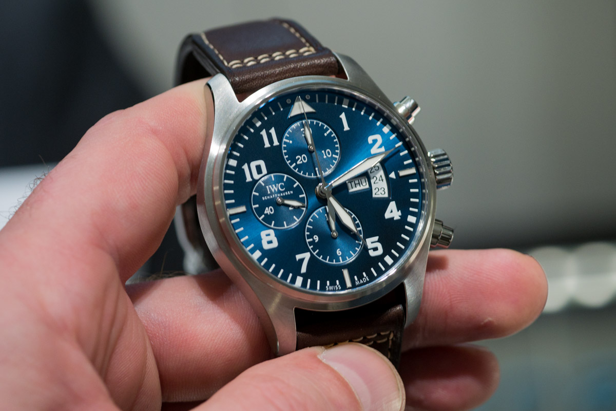 IWC Pilot Watch Chronograph le petit prince