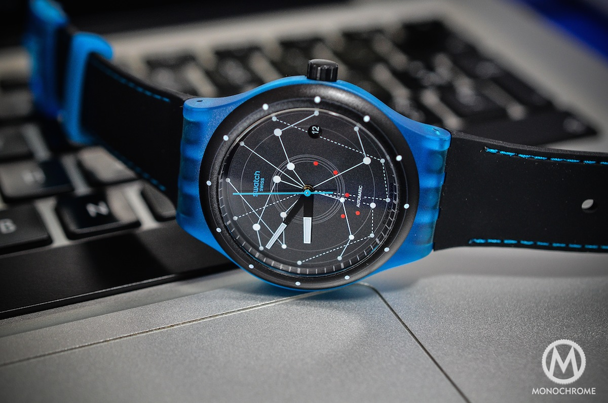 swatch sistem51 blue - reclining