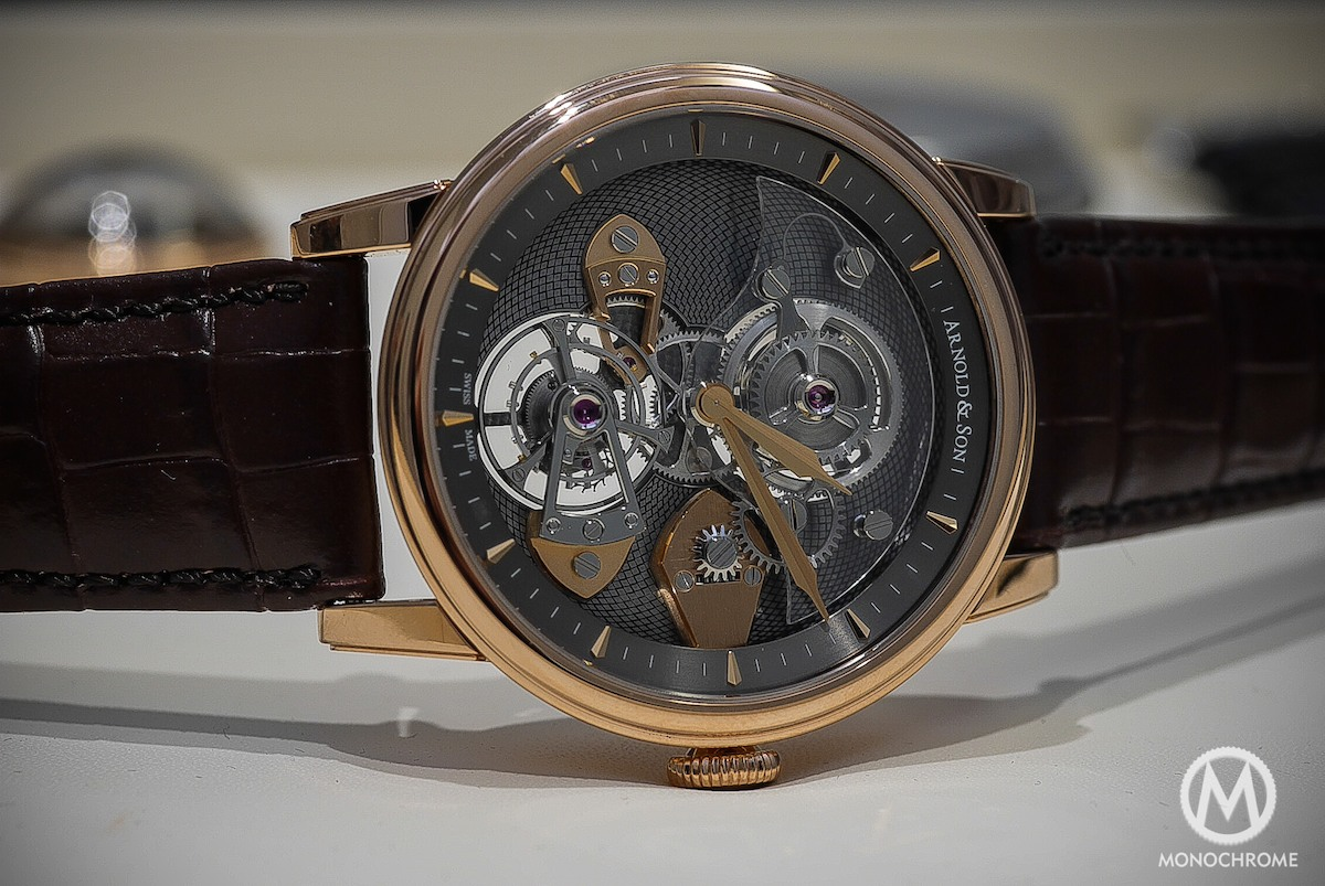 Arnold & Son Tourbillon TES (Live Photos and Specs)