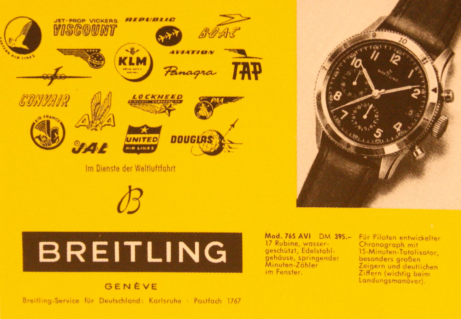 Breitling ref.765 Avi/Co-Pilot