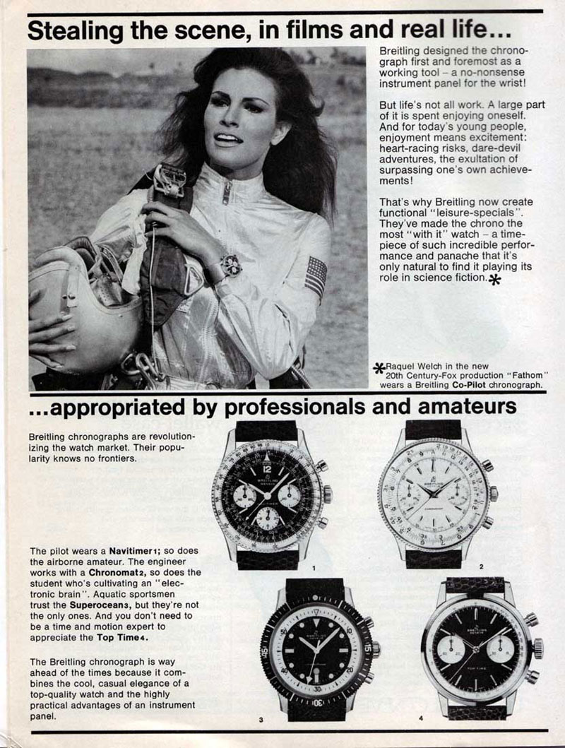 Breitling 1967 magazine