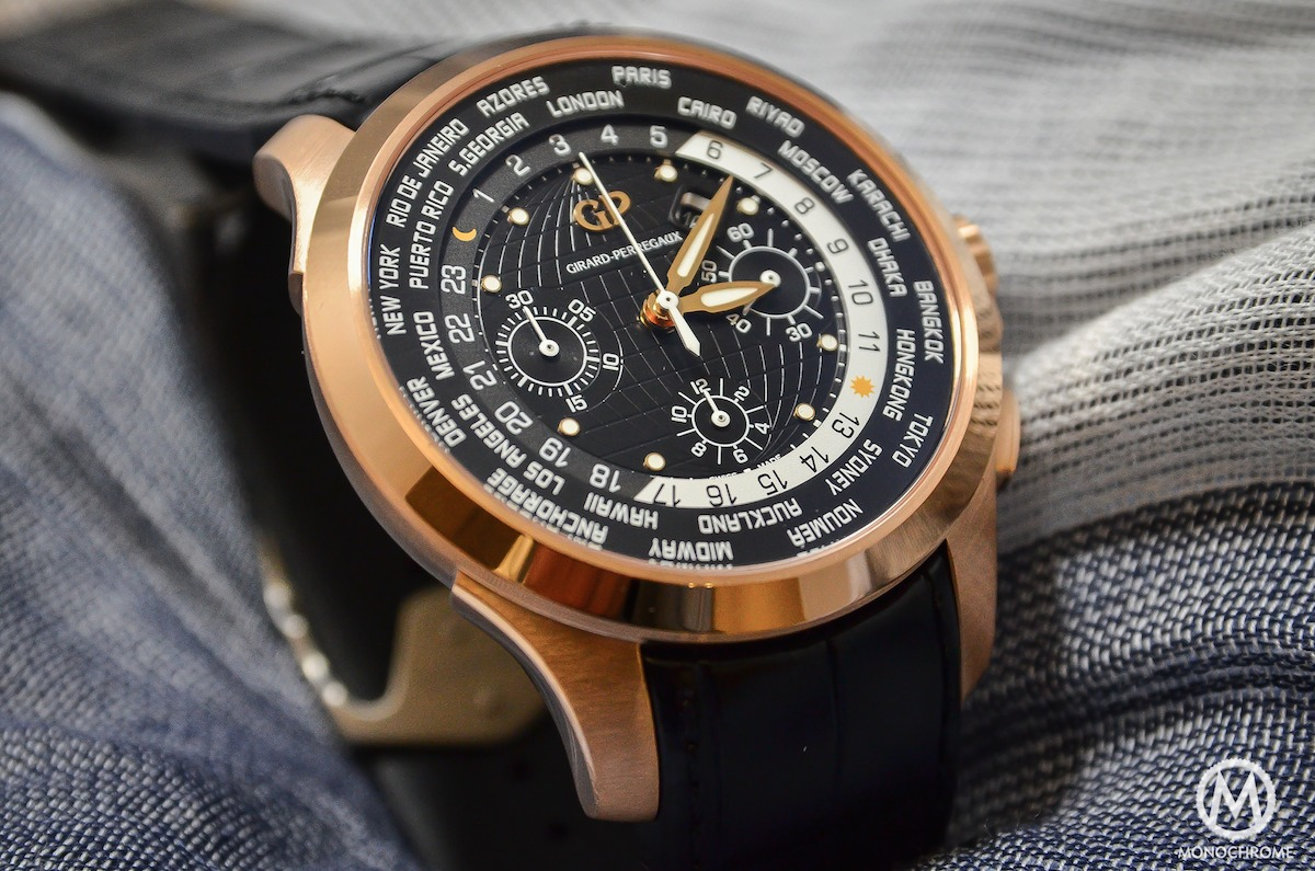Girard-Perregaux Traveller WW.TC Pink Gold – Hands-on