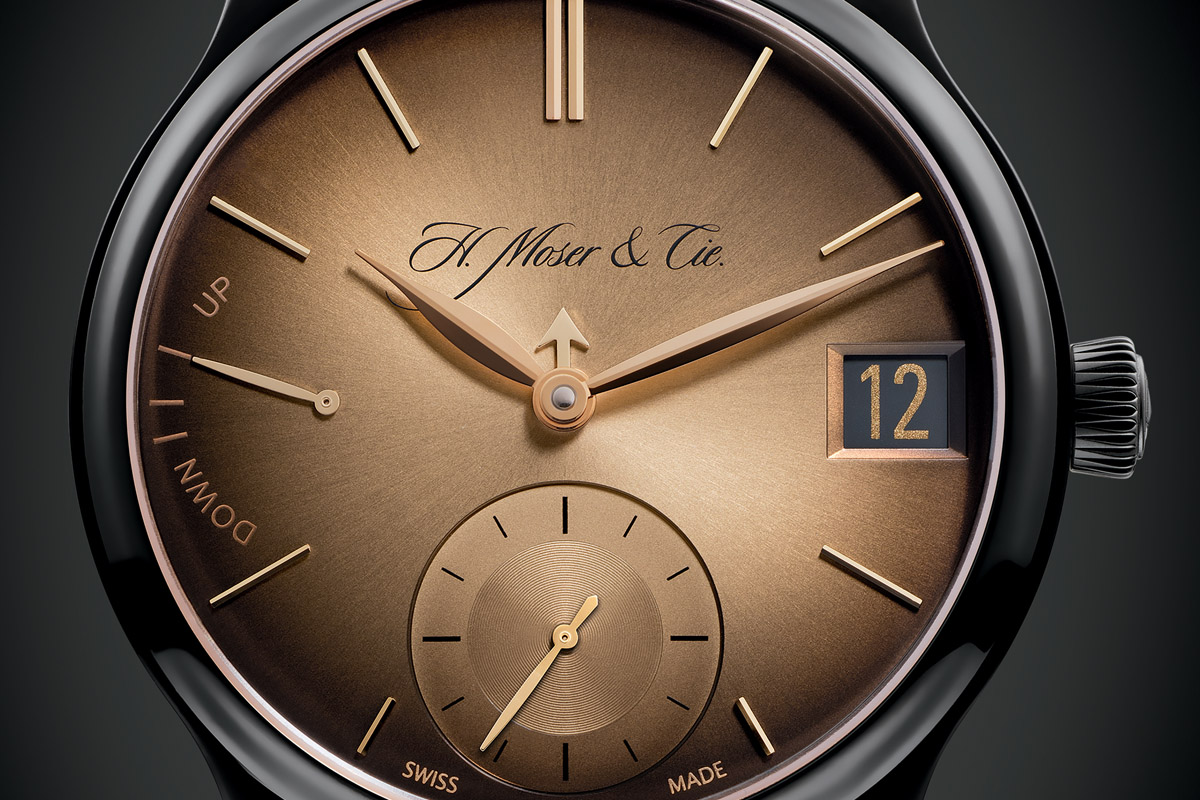 H. Moser & Cie Endeavour Perpetual Calendar Black Golden Edition – Limited to 10 Pieces