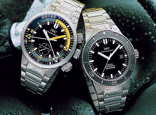 IWC GST Deep One and Aquatimer 2000
