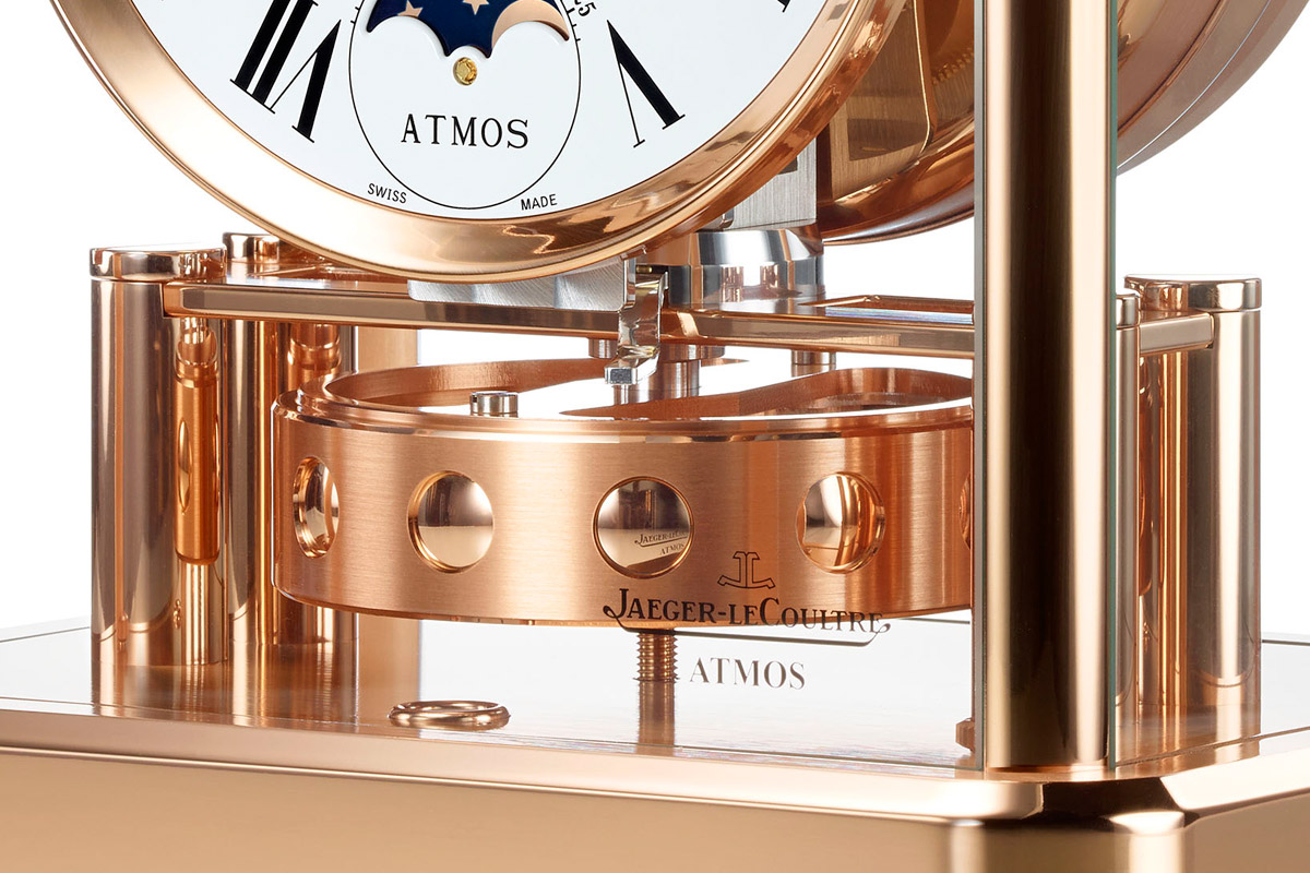 Jaeger-LeCoultre Atmos Classique Phases de Lune in Pink Gold