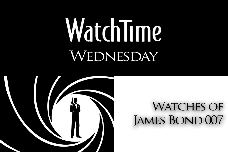 James Bond watches Omega