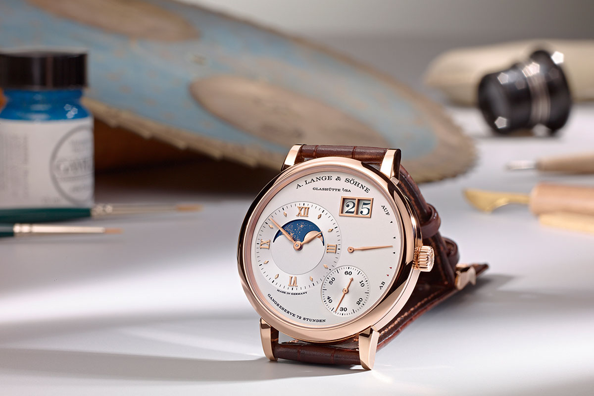 Weekly Watch Photo – A. Lange & Söhne watches with a Moon Phase