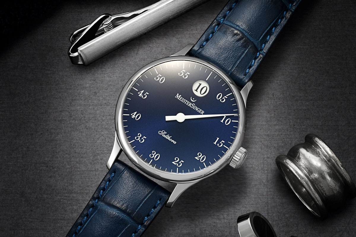 Meistersinger Salthora with Jumping Hours explained