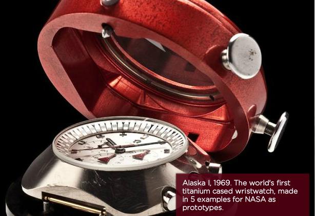 Omega Speedmaster Alaska Project One Titanium 2