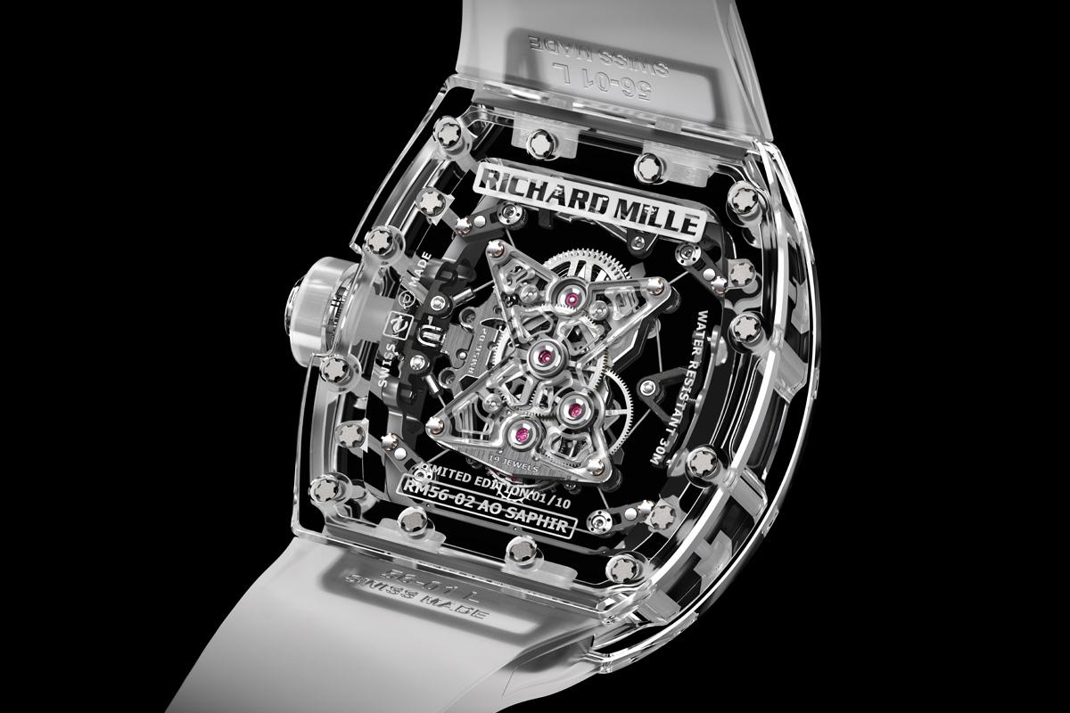 Richard Mille RM 56-02 Sapphire Tourbillon