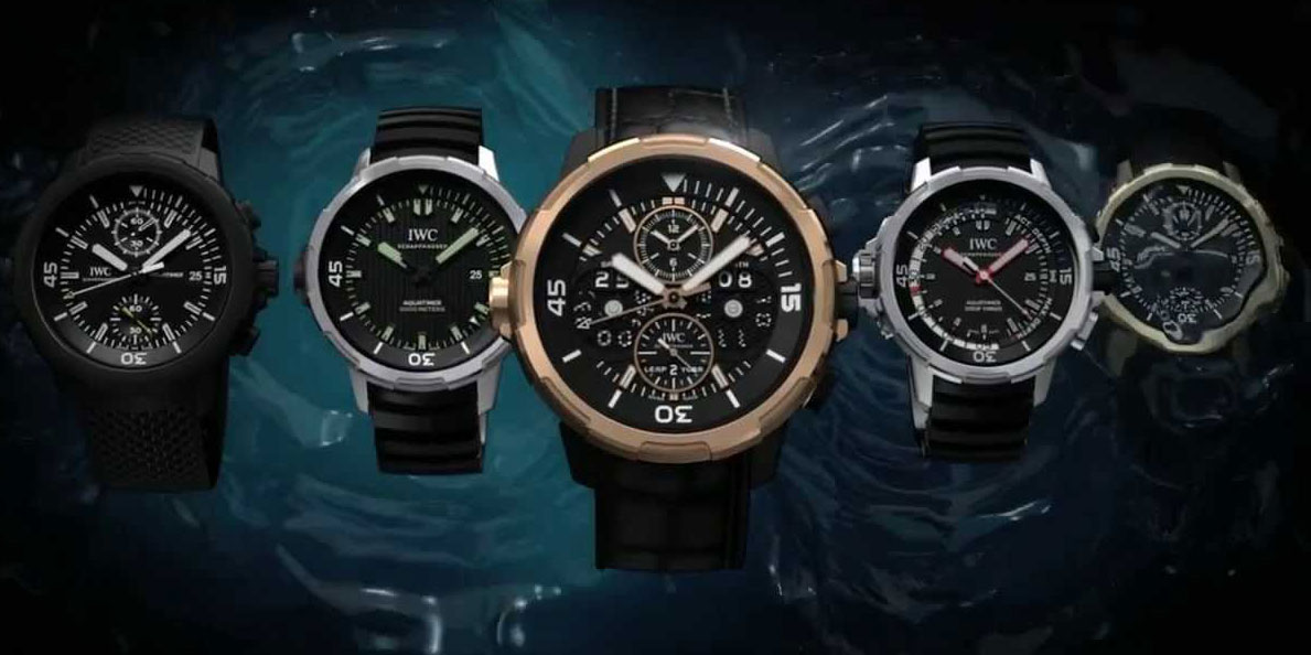 2014 IWC Aquatimer collection