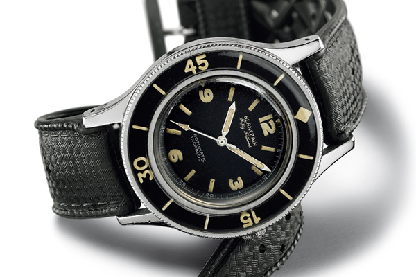 Watchtime Wednesday: the history of the Blancpain Fifty Fathoms