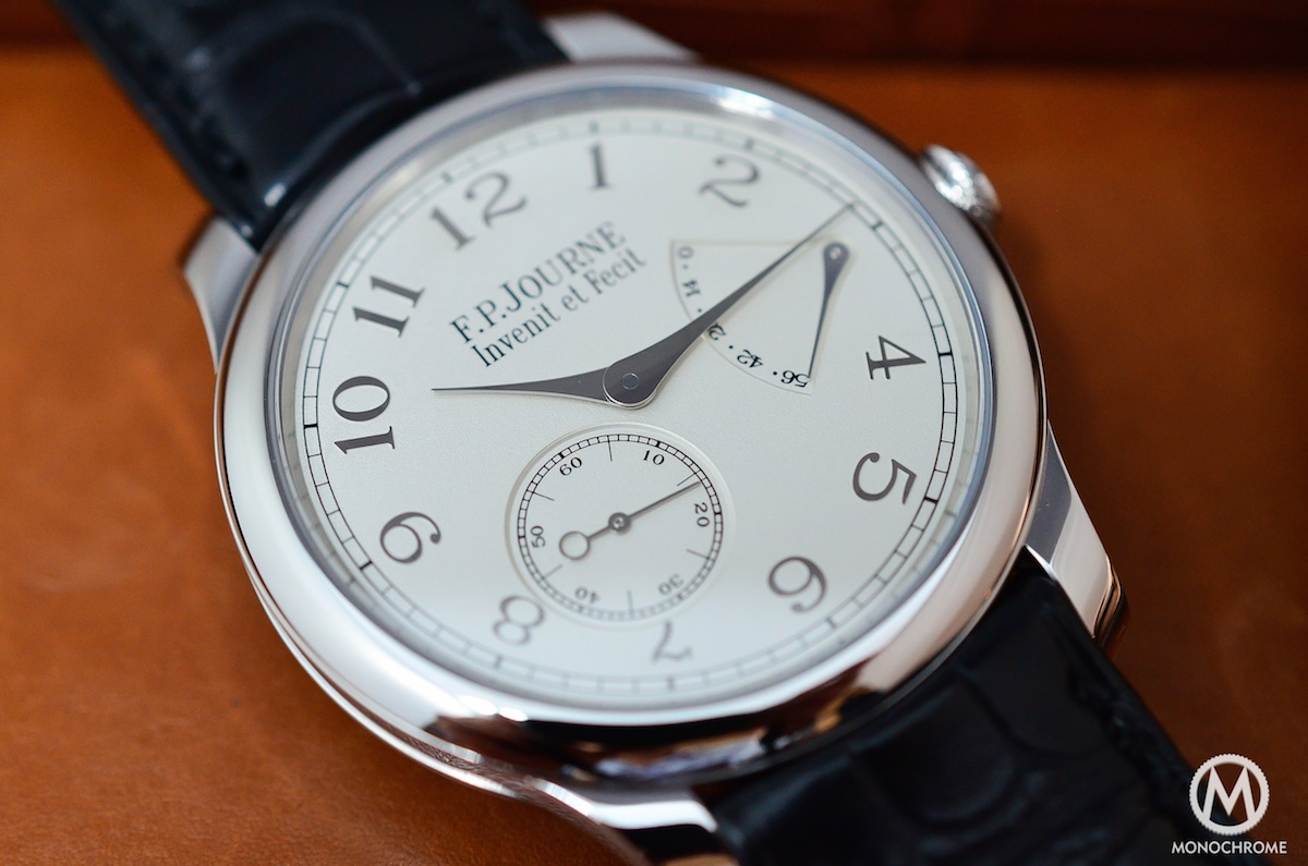 FP Journe CHronometre Souverain Gold Dial - 4