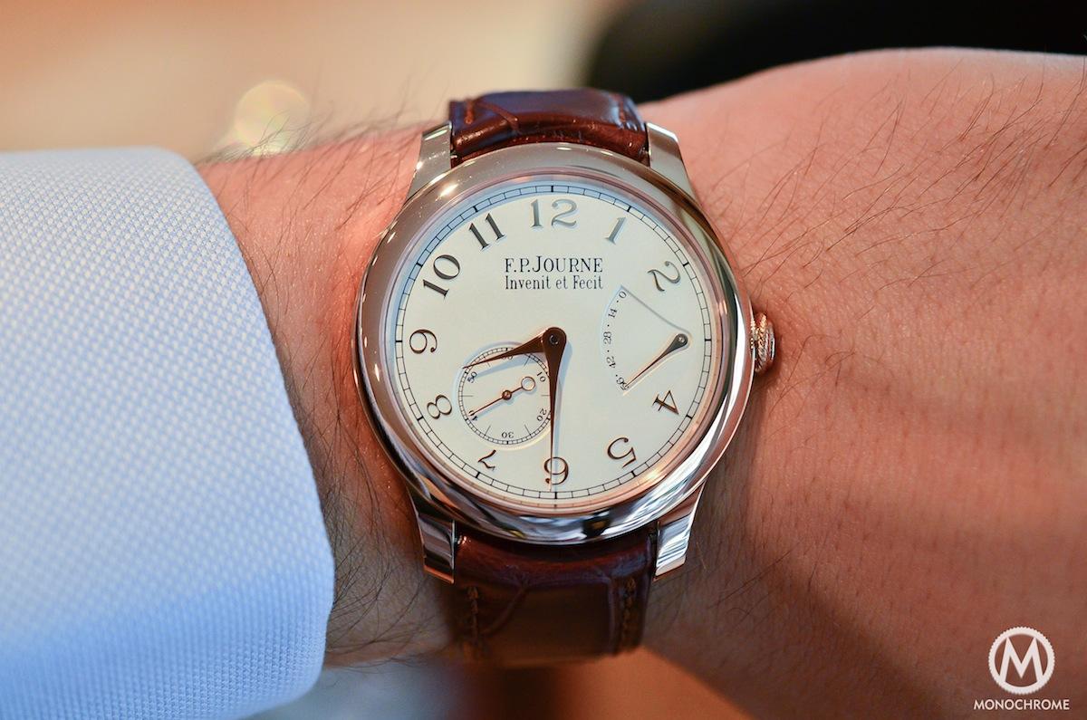 FP Journe CHronometre Souverain Gold Dial - 8