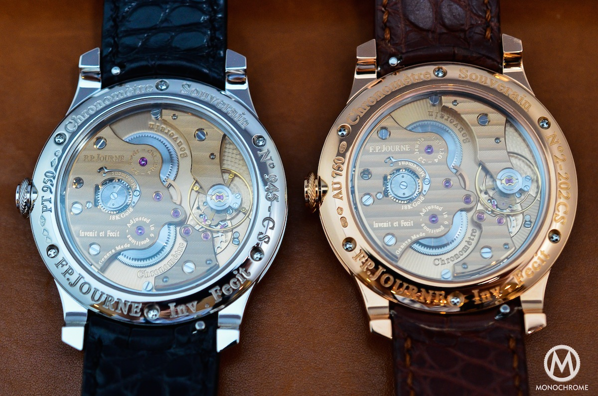 FP Journe CHronometre Souverain Gold Dial - 9