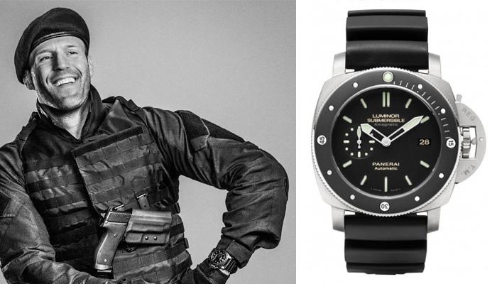 Watching Celeb watches – Jason Statham