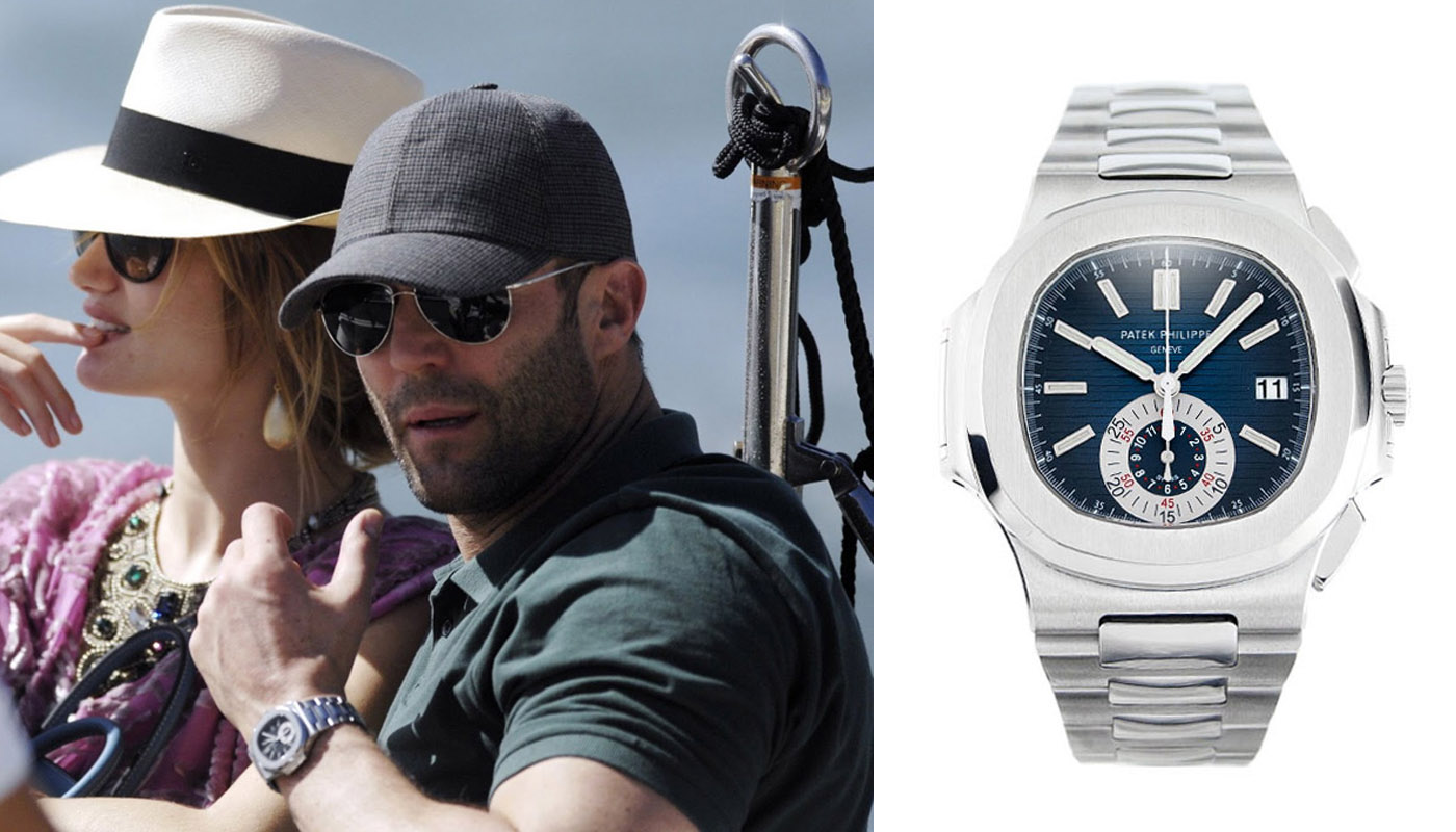 Watching Celeb Watches Jason Statham Monochrome Watches