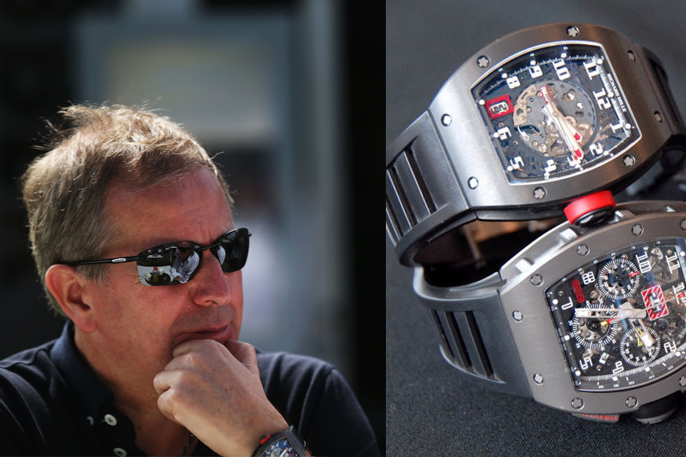 Watching Celeb Watches: Martin Brundle and his Richard Mille machines