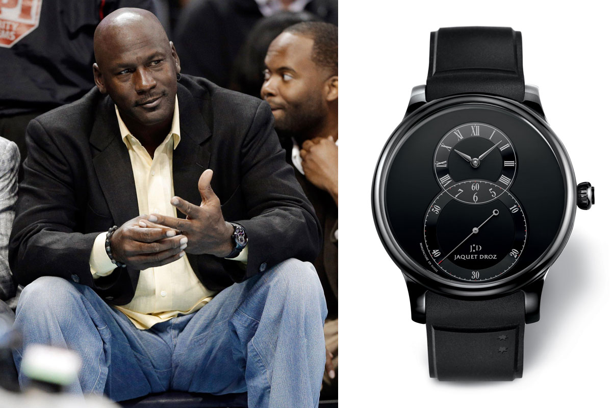 Watching celeb watches michael jordan sporting some rare pieces for Celebrity wearing rolex watches