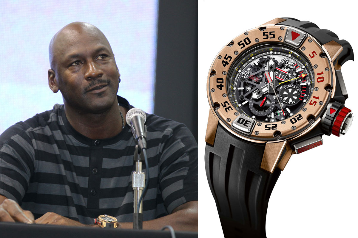 Watching celeb watches michael jordan sporting some rare pieces for Celebrity wrist watches