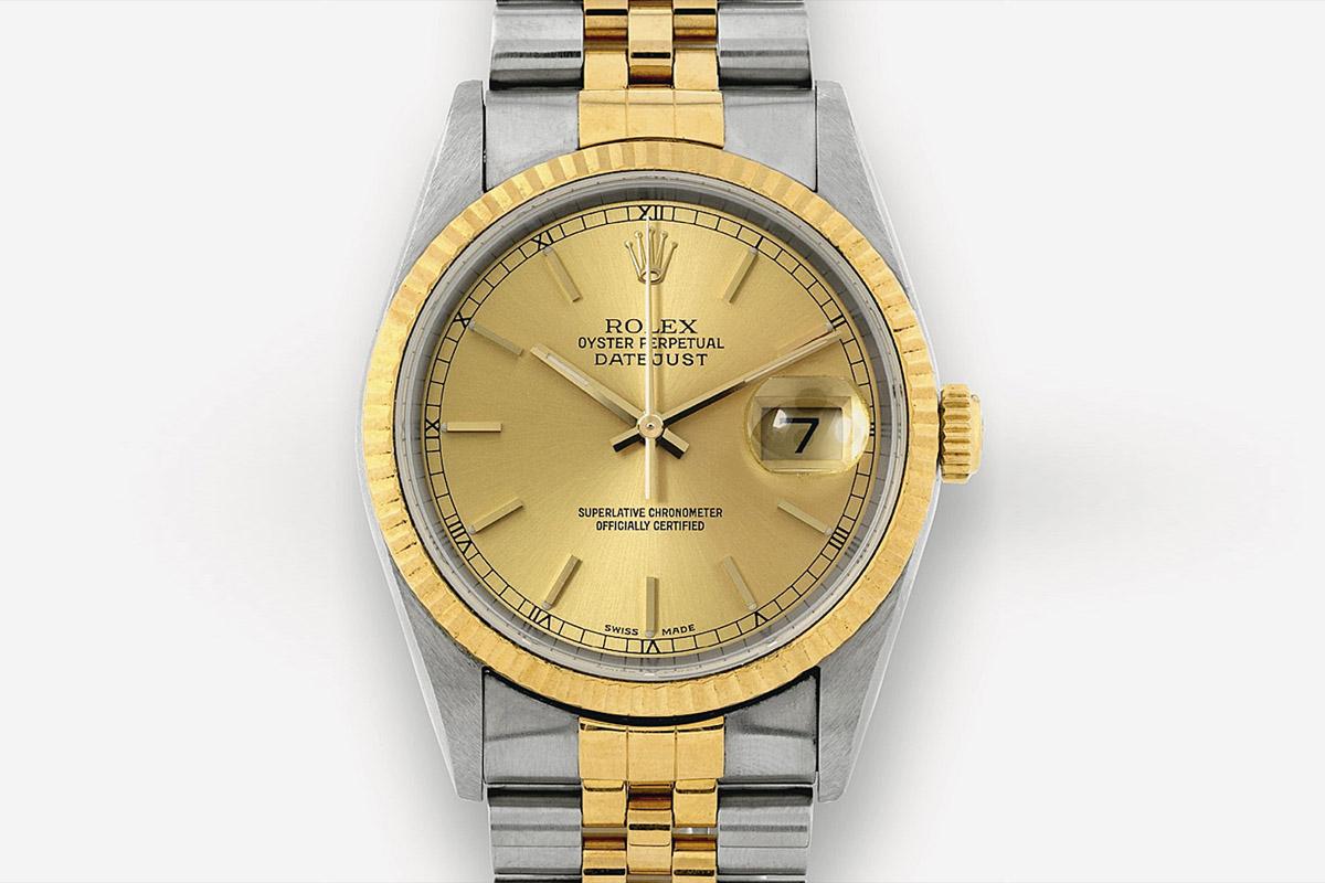 Rolex Datejust 2003 Two Tones