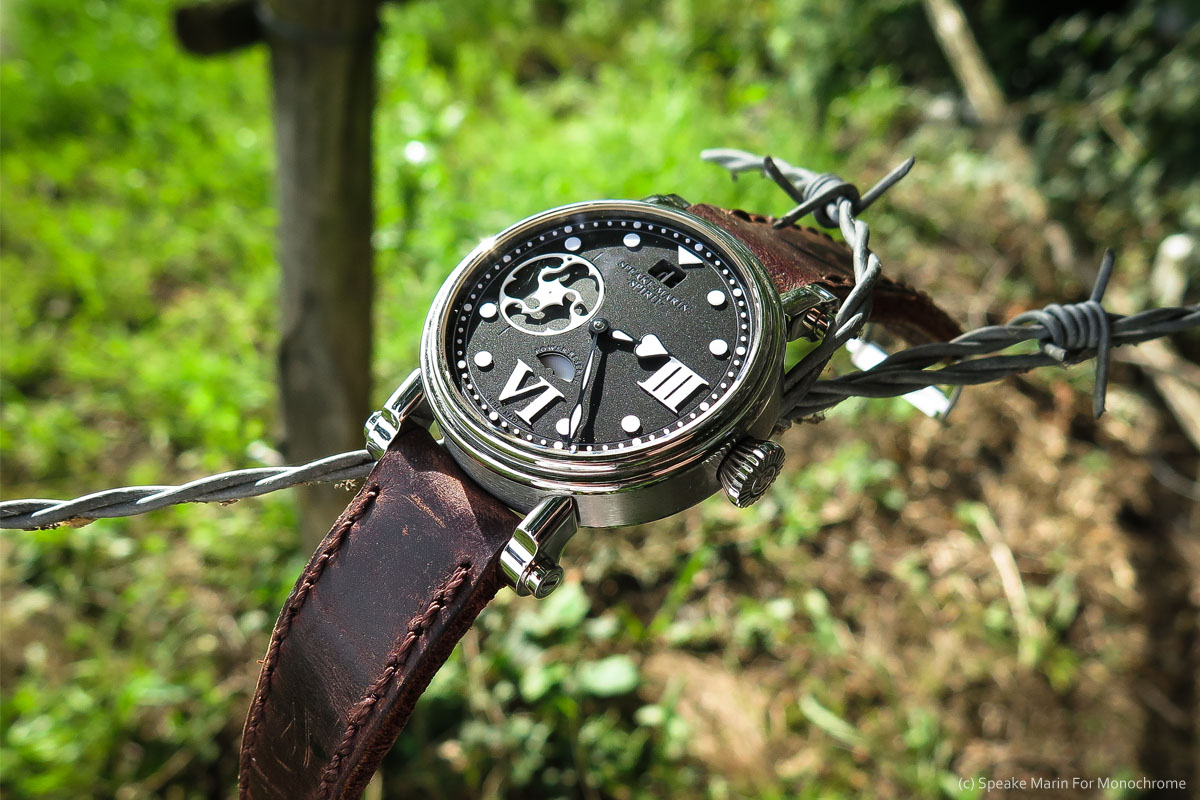 Weekly Watch Photo: Speake Marin Spirit Wing Commander into the nature