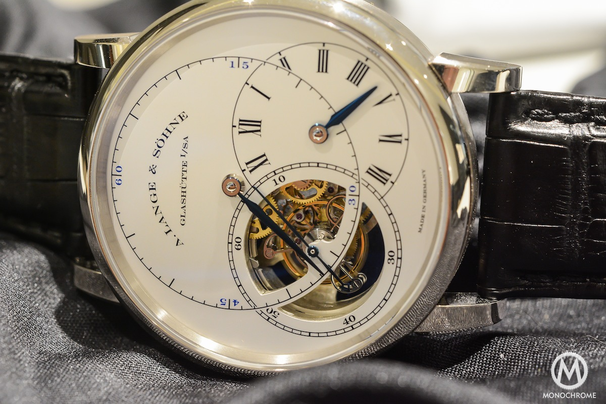 A. Lange & Söhne Richard Lange Tourbillon 'Pour le Merite' White gold (live photos, specs and price)