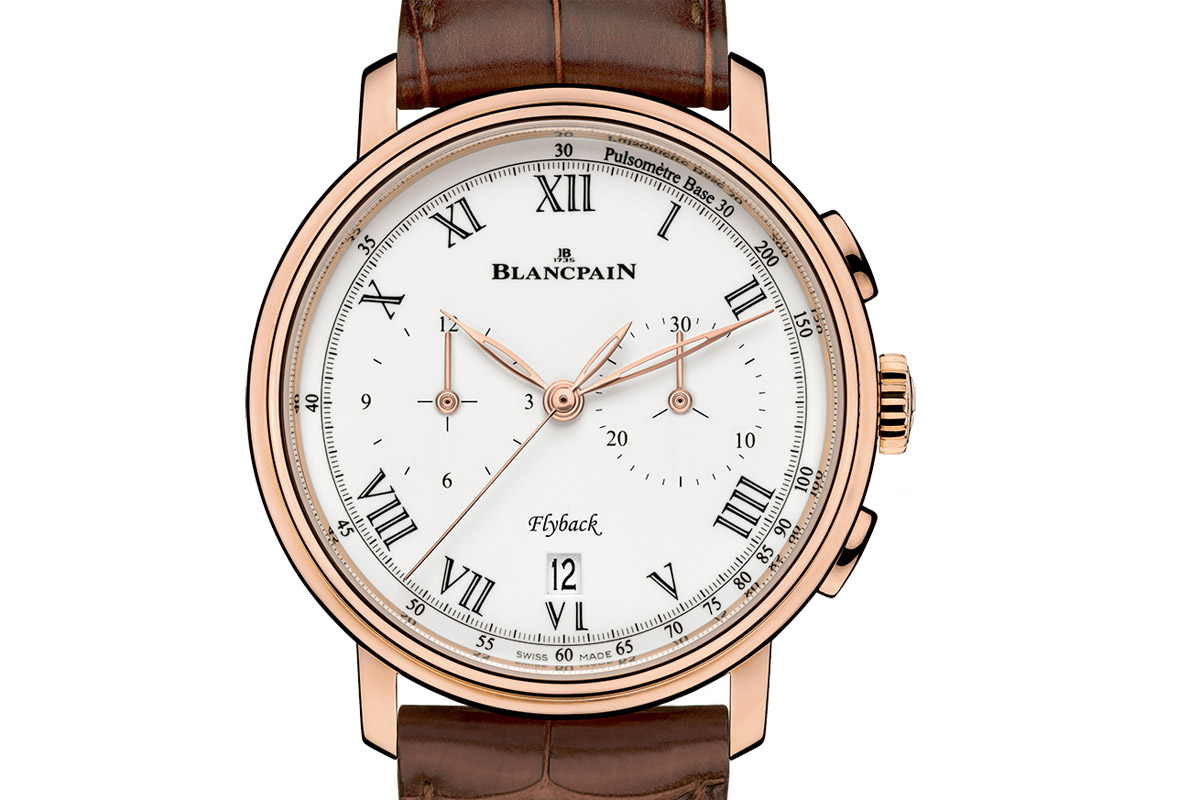 Introducing the Blancpain Villeret Chronographe Pulsomètre