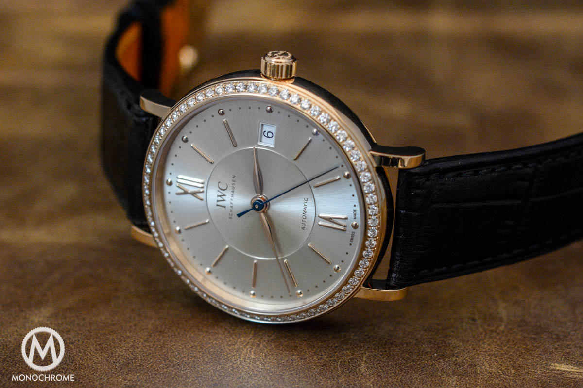 Introducing the IWC Portofino Midsize Collection and Three Portofino Automatics with Diamond-set Bezel (lots of live photos)