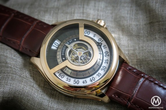 Fondereie 47 red gold tourbillon - 8
