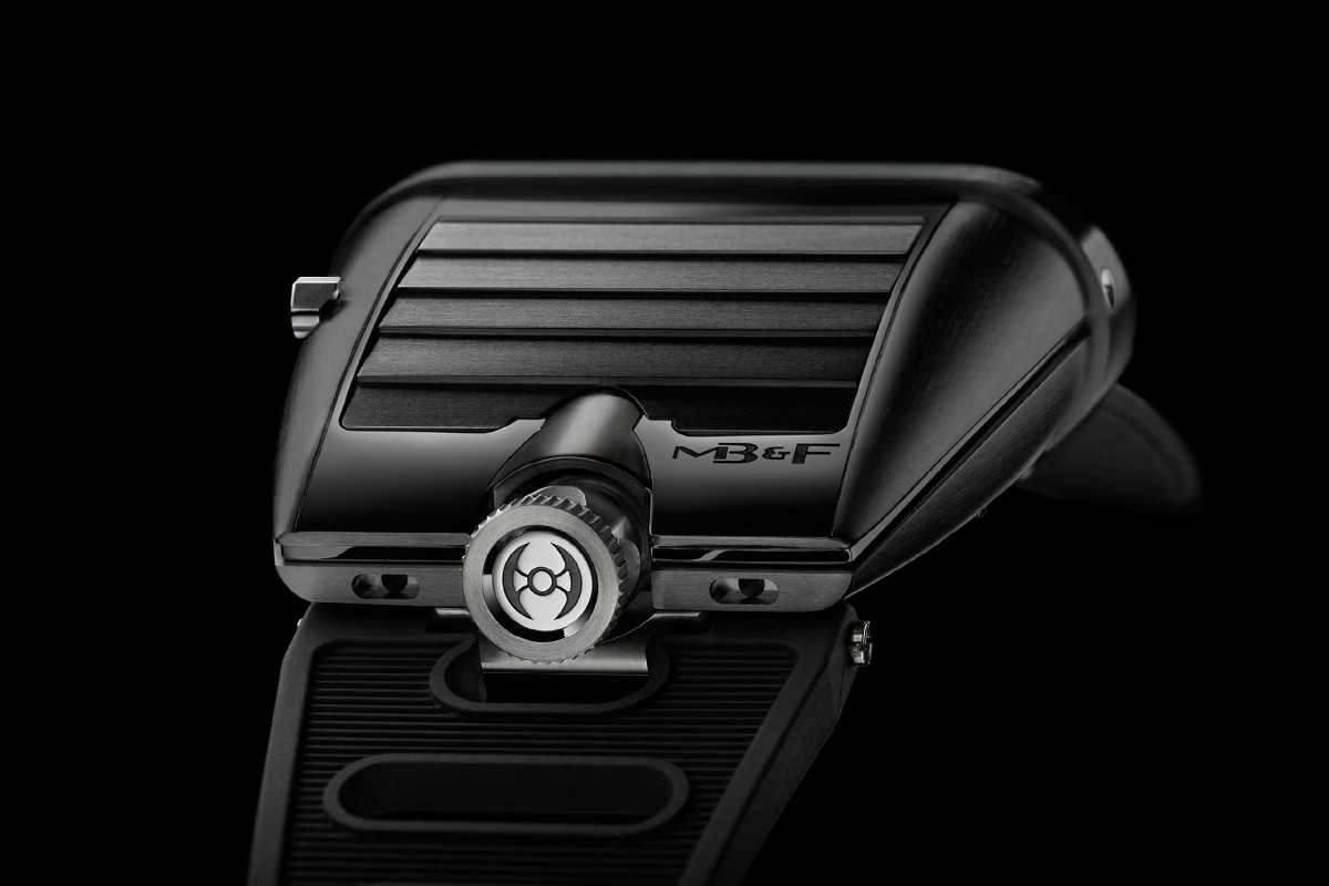 MB&F HM5 CM CarbonMacrolon – The 1970s inspired Horological Machine is back in black (specs and price)
