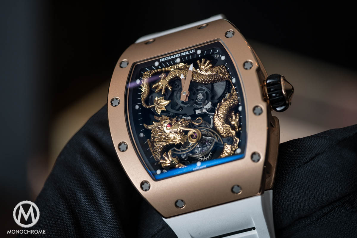 Risultati immagini per Richard Mille RM 57-02 'The Falcon' Highlights At Sotheby's Important Watches Sale foto