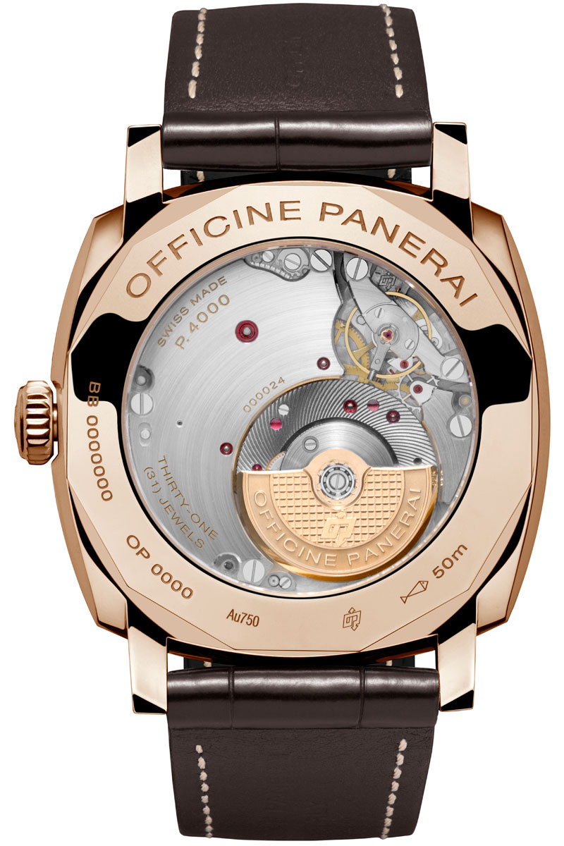 Introducing the Panerai Radiomir 1940 3-Days Automatic with Panerai's First Micro-Rotor Movement