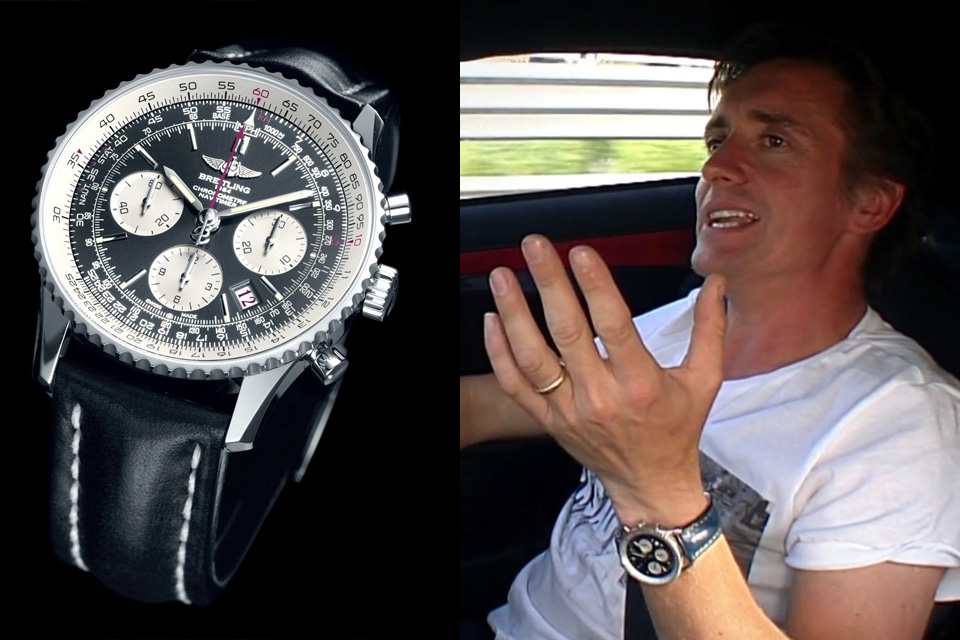 Watching celeb watches top gear 39 s jeremy clarkson richard hammond and james may monochrome for Top celebrity watches