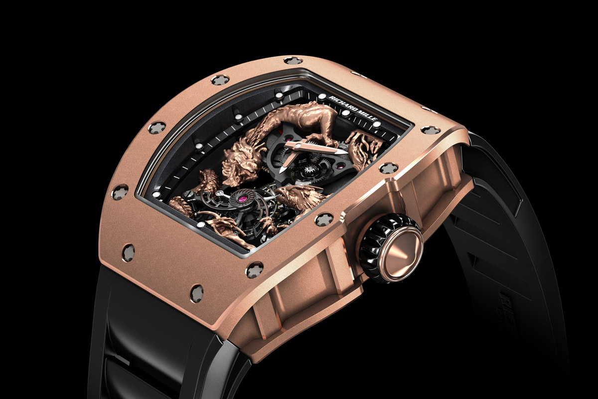 Richard Mille RM 57-01 Tourbillon Phoenix and Dragon – Jackie Chan