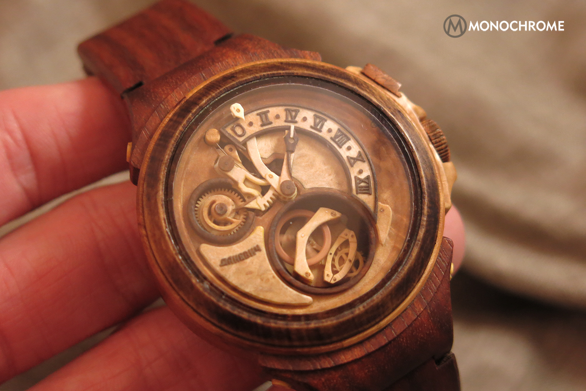 Wood you, or wood you not: Wooden mechanical watches by Valerii Danevych (live photos & price)