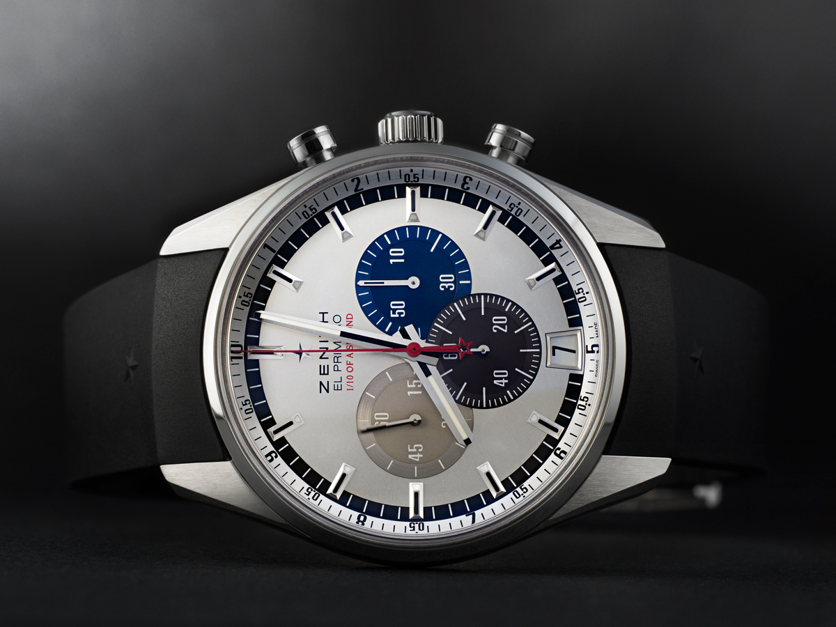 weekly watch photo zenith el primero striking 10th monochrome watches. Black Bedroom Furniture Sets. Home Design Ideas