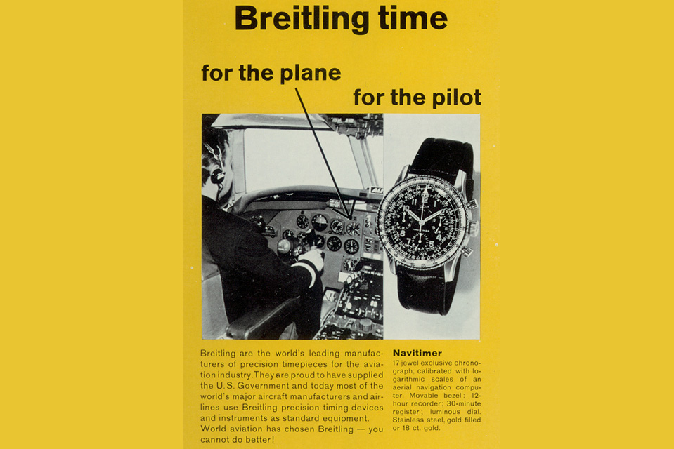 WatchTime Wedesnday: the History of the Breitling Navitimer