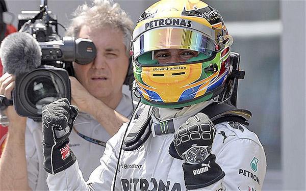 Lewis Hamilton vs Nico Rosberg – IWC Ingenieur Chronograph Limited Editions
