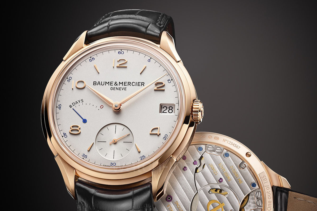 Baume & Mercier Clifton 8-Day Power Reserve (specs and price)