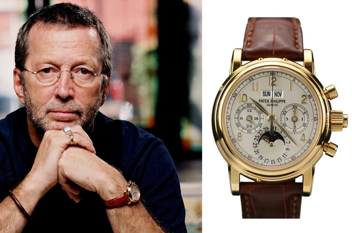 Watching Celeb Watches - Eric Clapton